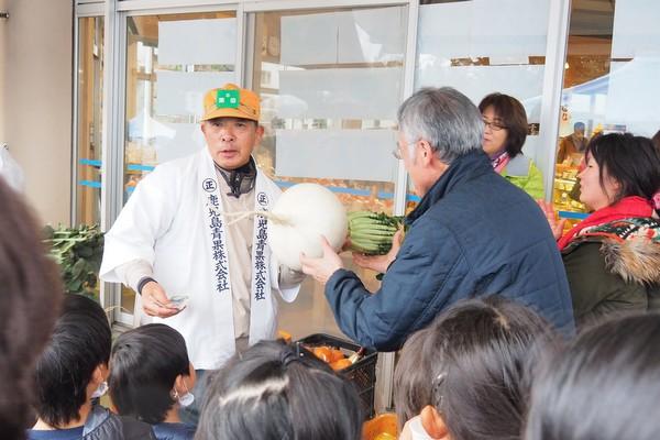 桜島大根・果物のミニセリ